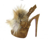 louboutin splash fur