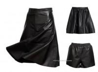 h&m-gonne-autunno-inverno-2012-nere-pantaloncini