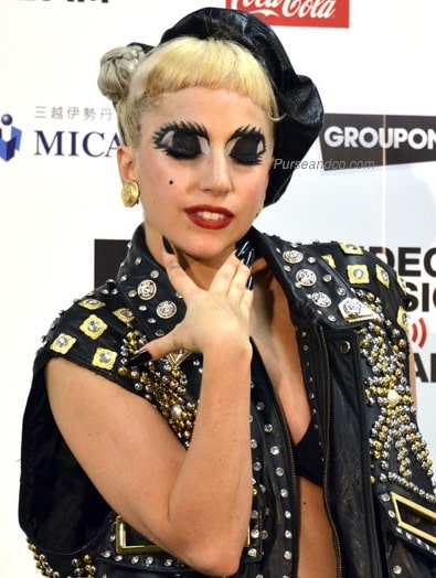 il make up di lady gaga