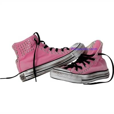 converse all star 2011 basse rosa borchie