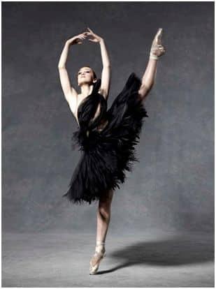 ballerina in tutu
