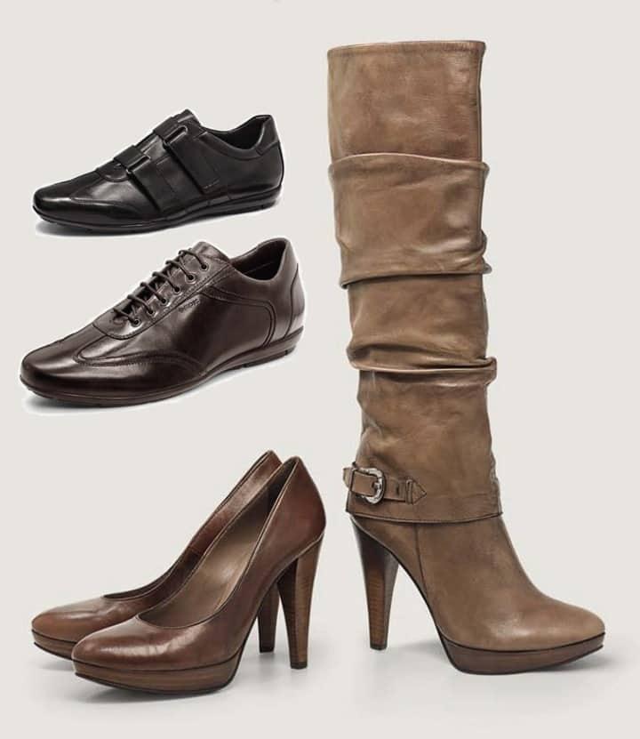 Geox scarpe a-i 2011 2012 Keira e Iacopo