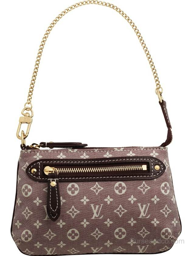 Borsa Louis Vuitton Mini Pochette in tela Idylle Monogram