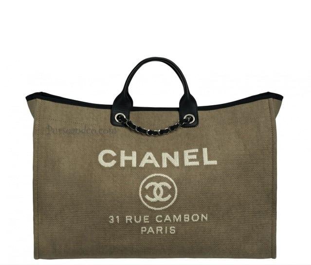 Borsa Chanel primavera estate 2012 in tela