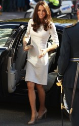 Kate Middleton in visita all'ospedale