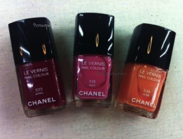 Smalti Chanel primavera estate 2012