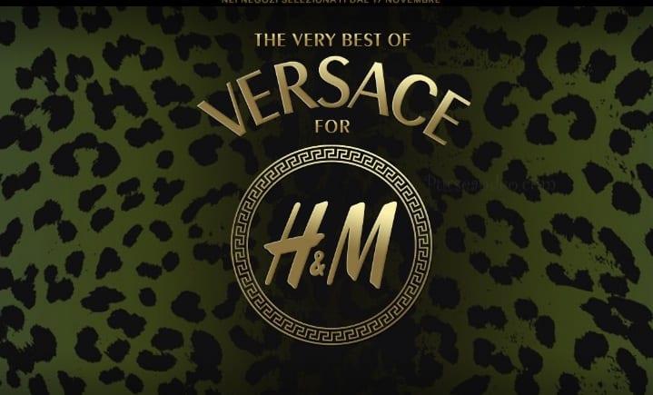 Versace for H&M punti vendita