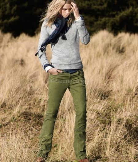 Outfit dalla collezione H&M autunno inverno 2011 12