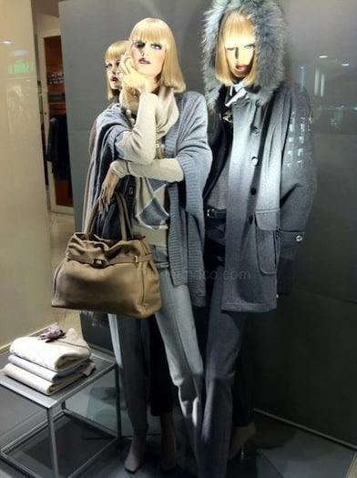 Cappotti e borsa Luisa Spagnoli prezzi