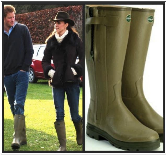 Stivali da pioggia di Kate Middleton