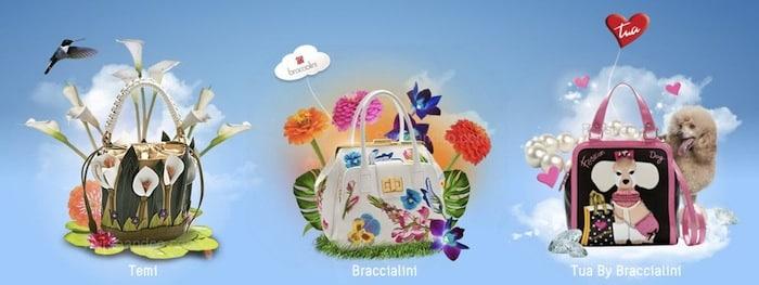 Braccialini borse primavera estate 2012