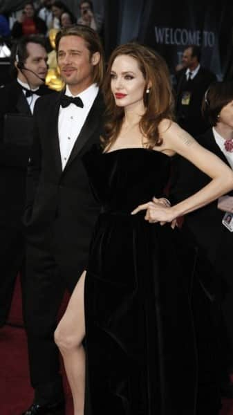Angelina Jolie sul red carpet