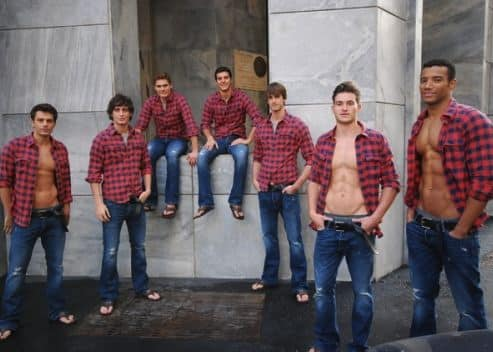 I modelli Abercrombie a Milano