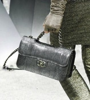 Borsa Chanel metallizzata