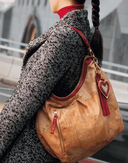 Alviero Martini borse autunno inverno 2012 2013 shopping bag a spalla - tracolla