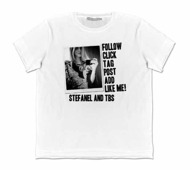 CHiara Ferragni, la sua t-shirt per la VFNO 2012 by Stefanel
