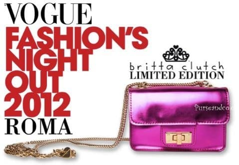 Vogue Fashion Night Out 2012 Roma limited edition