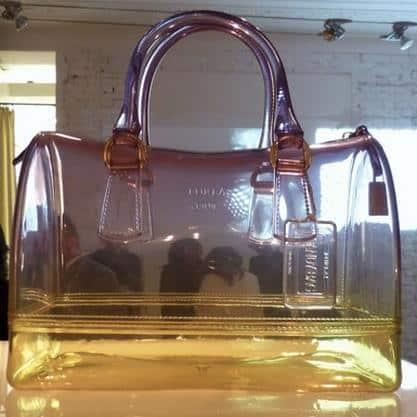 Candy Bag trasparente colorata estate 2013