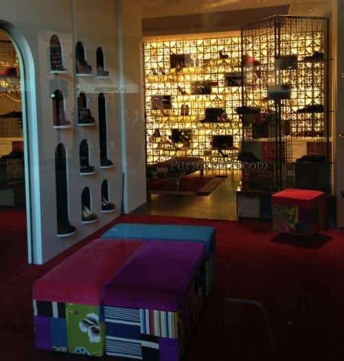 louboutin roma store
