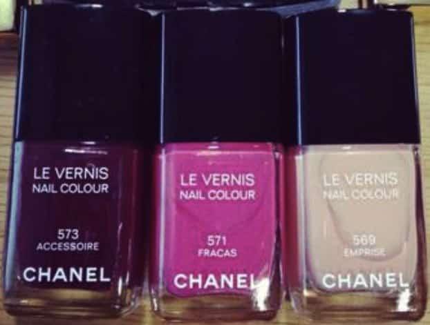 Chanel smalti primavera estate 2013