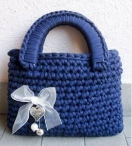 borse in fettuccia estiva 2013 blu