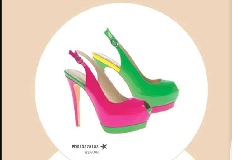 scarpe primadonna collection primavera estate 2013 fluo