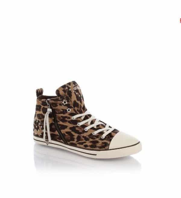 collezione guess scarpe autunno inverno 2013 2014 sneakers leopardate
