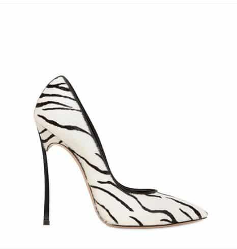 collezione scarpe casadei autunno inverno 2013 2014 decollete cavallino zebrate