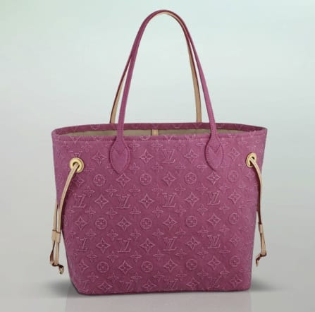 Louis Vuitton Neverfull Stone Washed prezzo 1650 euro