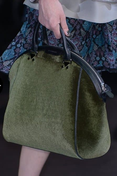 catalogo borse emporio armani autunno inverno 2013 2014 shopper verde