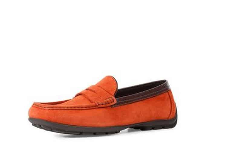 catalogo uomo scarpe Geox autunno inverno 2013 2014 mocassino