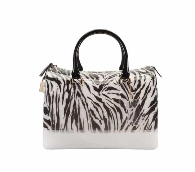 collezione candy bag furla prezzi bauletto zebrato
