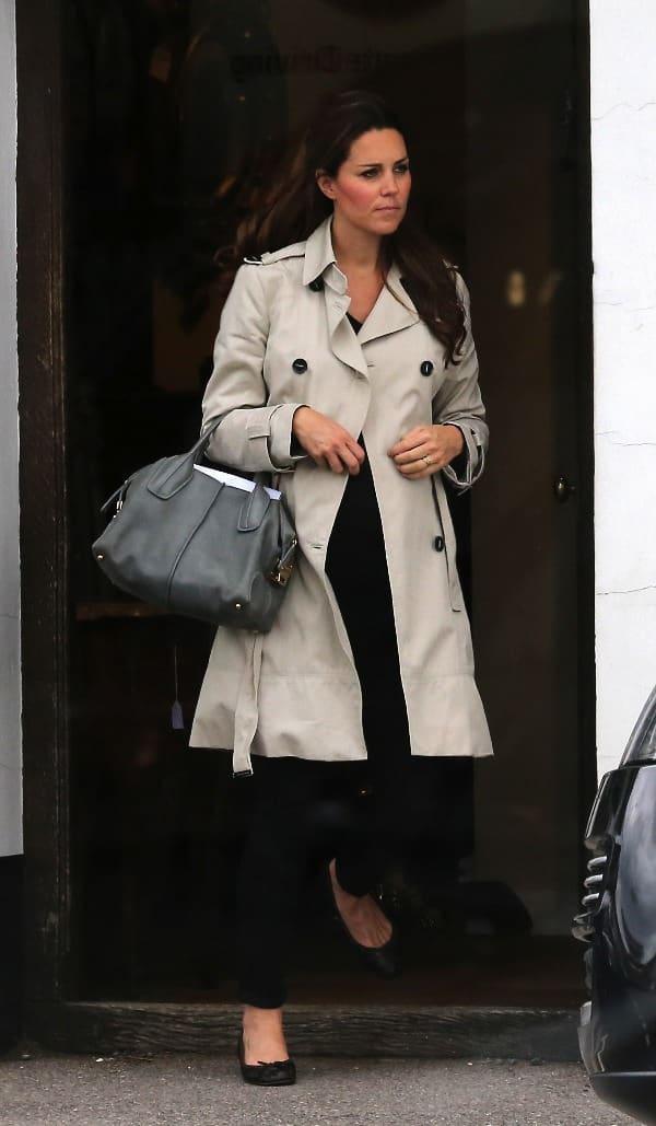 Kate Middleton news look borsa Tod's D Bag