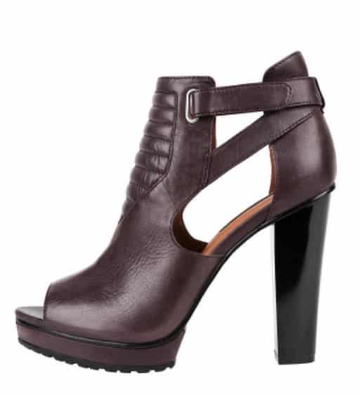 scarpe donna H&M autunno inverno 2013 2014 decollete aperte