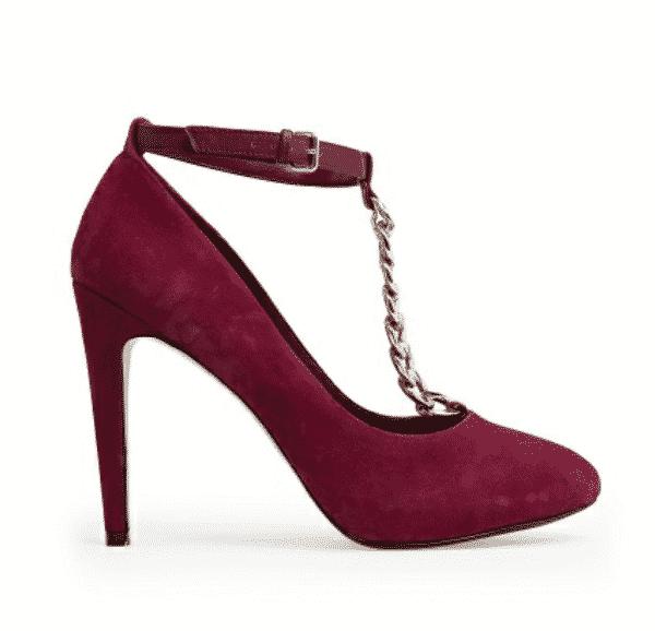 scarpe mango autunno inverno 2013 2014  decollete catena
