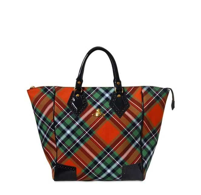 borse Vivenne Westwood autunno inverno 2013 2014 shopping scozzese