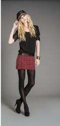 artigli abbigliamento autunno inverno 2013 2014 gonna scozzese