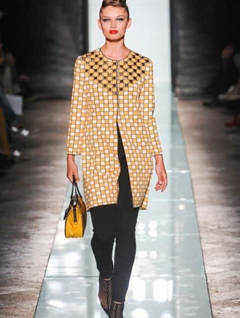 borsa gialla roccobarocco p/e 2014