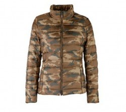catalogo abbigliamento donna Geox autunno inverno 2013 2014 piumino camouflage