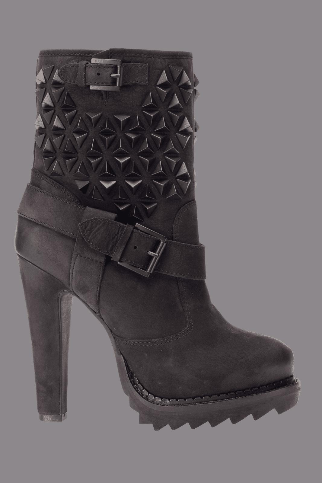 Ash Stivali Main Line Ankle Boots Desire Bis Black