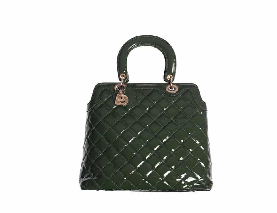 handbag verde primadonna a/i 2013 2014