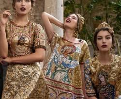 moda Dolce   Gabbana donna autunno inverno 2013 2014 mosaici 145a4921e3e