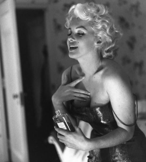 Chanel n5 marylin monroe