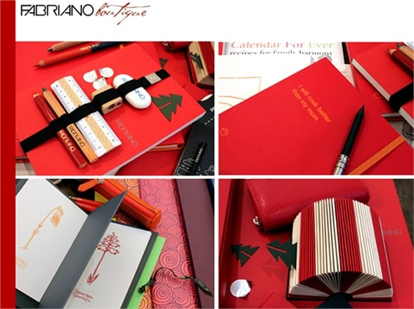 Fabriano, Quaderni Fabriano Christmas Collection / @Pressoffice