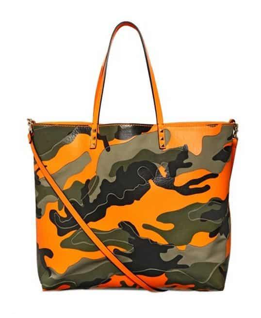 borse collezione primavera estate 2014 Valentino shopper camouflage