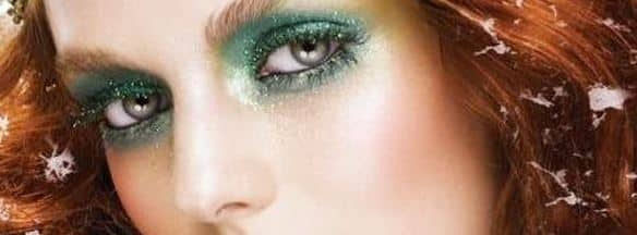 occhi verdi make up sparkling