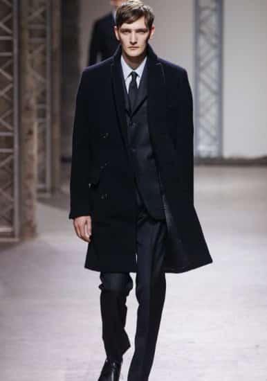 8302e16526c Hermes uomo autunno inverno 2014 2015 cappotto