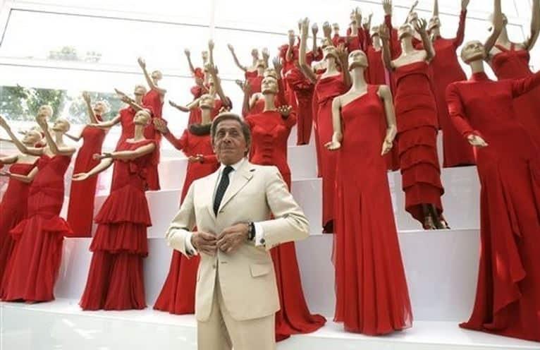 rosso Valentino moda libri