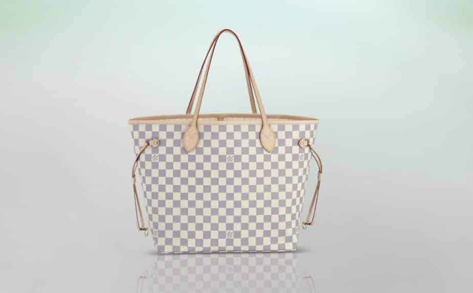 Louis Vuitton Neverfull borsa 2014 MM damier