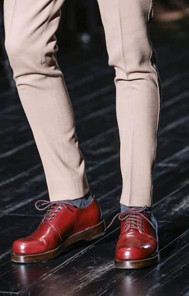 Tendenza Scarpe Uomo autunno inverno 2014 2015 Gucci colore